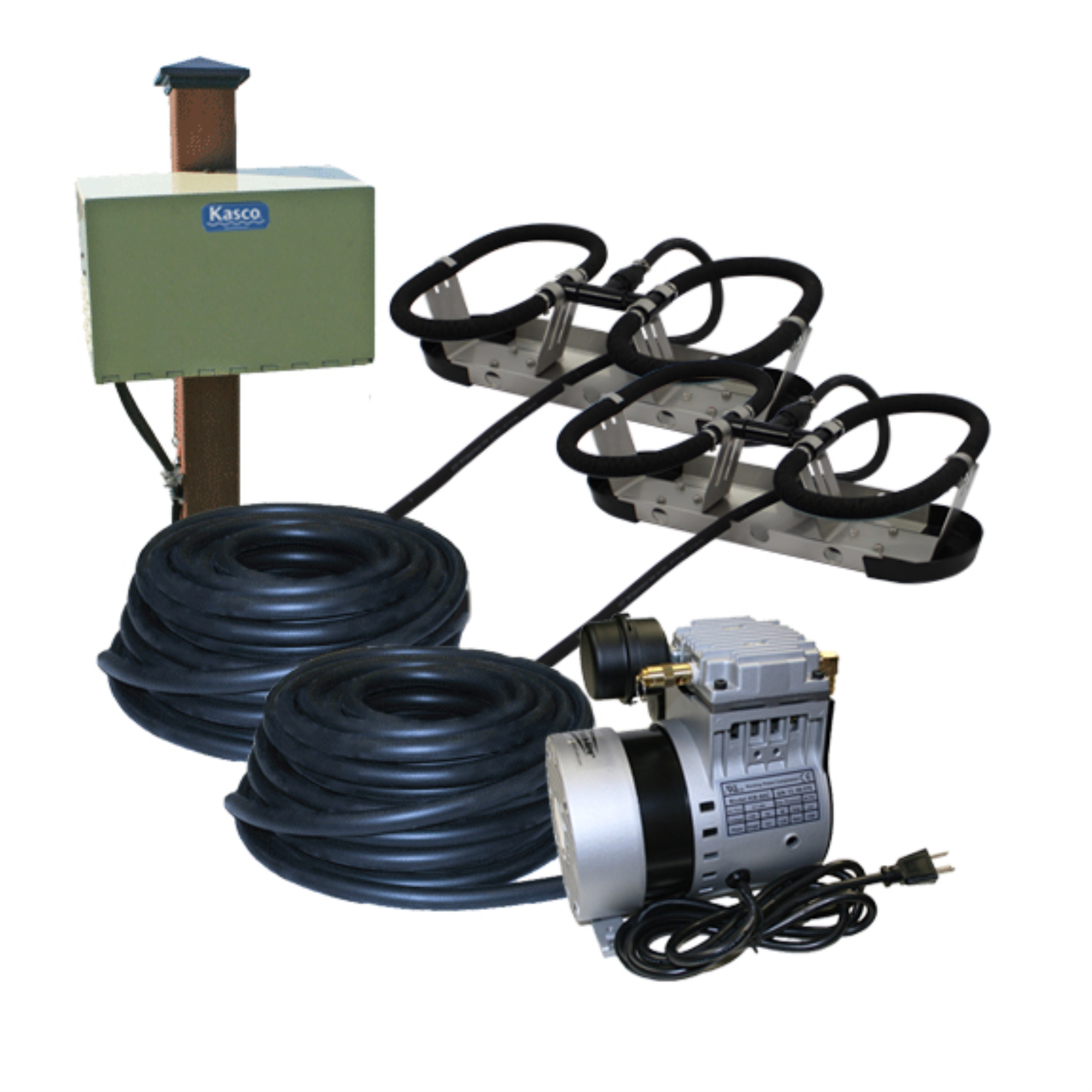 Kasco Aeration Robust-Aire KIT RA2PM Ponds To 3.0 Surface Acres 120V POST MOUNT